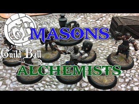Guild Ball Season III Match - Ep 18 - Masons vs. Alchemists