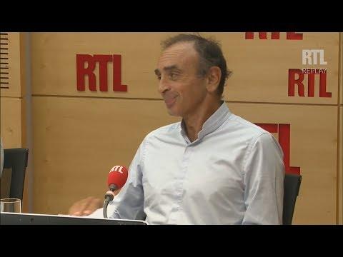 Zemmour : «Le seul endroit digne de la réforme de Najat VB est la poubelle» (RTL,05/09/17,9h30)
