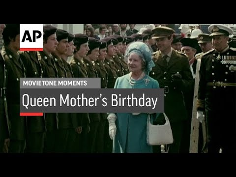 Queen Mother's Birthday - 1975 | Movietone Moments | 4 Aug 17