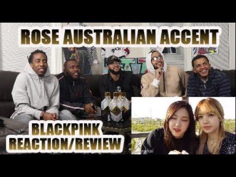 BLACKPINK ROSE AUSTRALIAN ACCENT COMPILATION (REACTION/REVIEW)