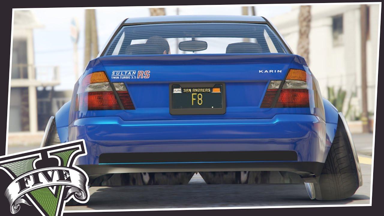GTA 5 STANCED CARS