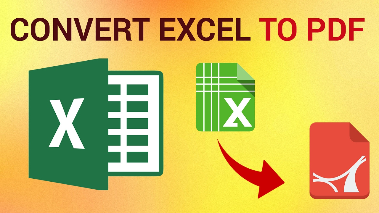 excel to pdf converter online free no email