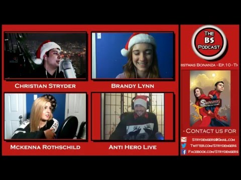The BS Podcast Ep. 10 - The BS Christmas Bonanza, YouTube Pranks Exposed & more! w/ Anti Hero Live