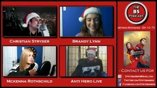the bs podcast ep 10 the bs christmas bonanza youtube pranks exposed more w anti hero live