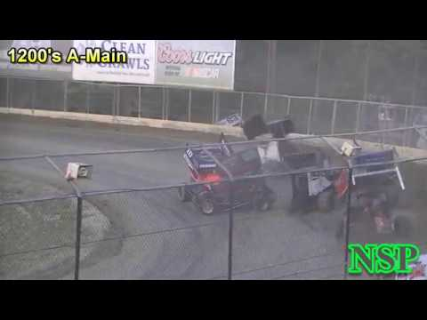 July 20, 2019 Clay Cup Night #3 1200 Mini Sprints A-Main Deming Speedway