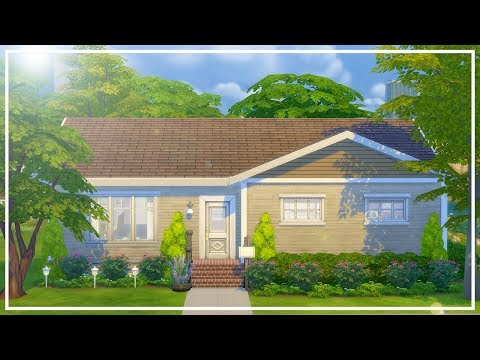 BUILDING MY CHILDHOOD HOME // The Sims 4: Speed Build