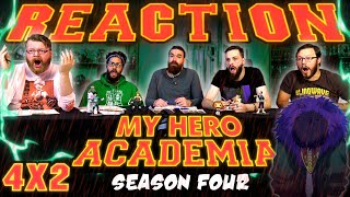 """My Hero Academia [English Dub] 4x2 REACTION!! """"Overhaul"""""""