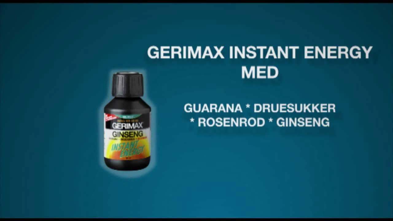 gerimax instant energy