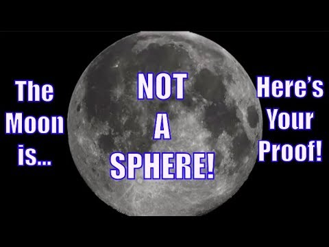 Flat Earth Lunar Eclipse Proves The Moon Is Not Spherical