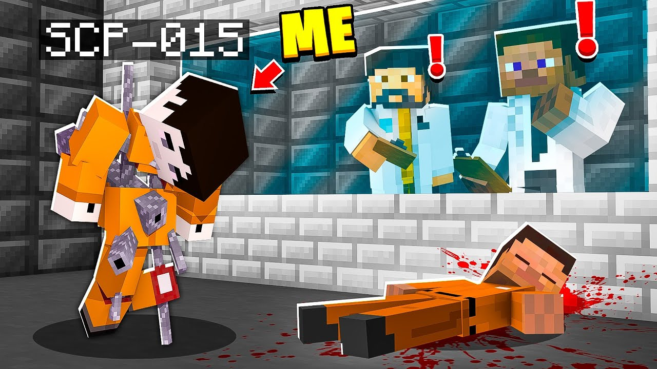 I Became SCP-015 in MINECRAFT! - Minecraft Trolling Video