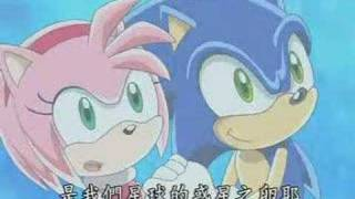 Just breathtaking SonAmy scene from episode 76! It sounds the most romantic in japanese language I think, so touching X3.