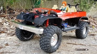 Traxxas TRX4 Ford Bronco 90mm Shock Test