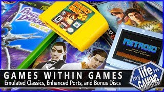Games Within Games - Emulated Classics, Enhanced Ports, and Bonus Discs / MY LIFE IN GAMING