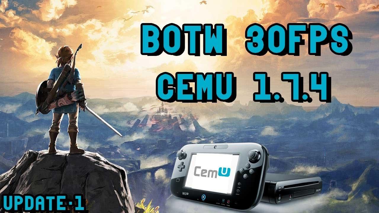 how to get botw cemu 30 fps