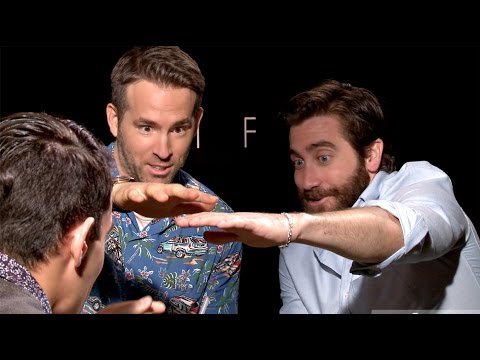 Ryan Reynolds and Jake Gyllenhaal Freak Out UNCENSORED MAGIC
