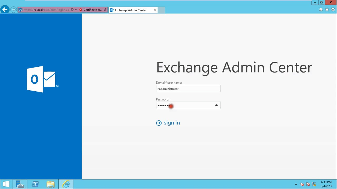 How To Resolve Http 500 Error In Exchange Server 2016 Youtube