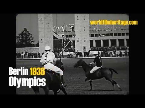 Berlin 1936 - Olympics - Olympia - Polo: England vs. Argentina
