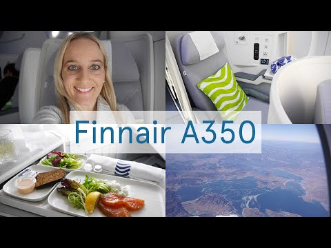 FINNAIR A350 Business Class Flight Review, Beijing to Helsinki