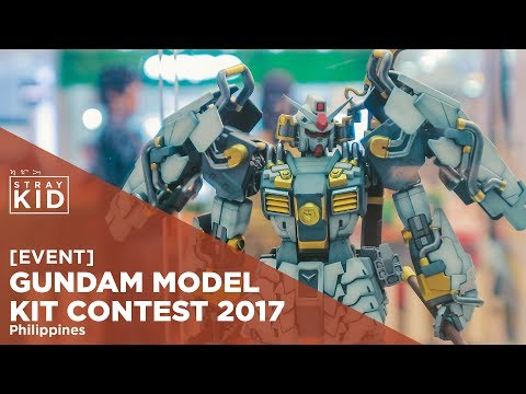 [EVENT] Gundam Model Kit Contest 2017 - Philippines