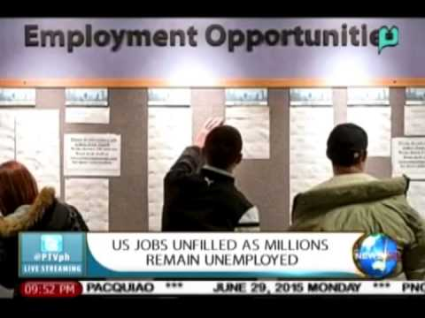NewsLife: US jobs unfilled as millions remain unemployed || Jun. 29, 2015