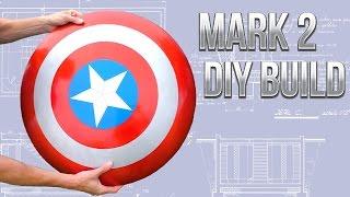 Mark 2 Captain America Shield DIY Build