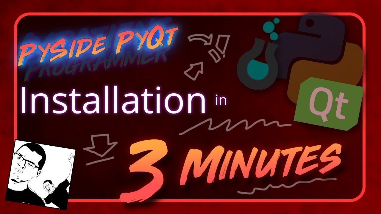 Pyside Pyqt Installation In 3 Minutes Youtube