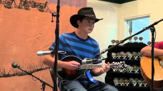 Patrick Murray - 2012 Western Open Fiddle Championships - Open Picking Mandolin Division Round 1