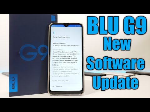 BLU G9 New Software Update + New Camera features