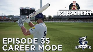 ASHES CRICKET | CAREER MODE #35 | QUICK-FIRE INNINGS!