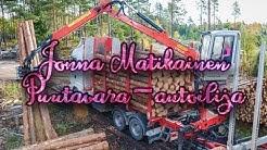 Jonna Matikainen - Puutavara-autoilija