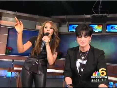 TRACY YOUNG & DEBORAH COX LIVE on NBC MIAMI