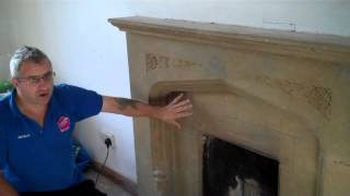Stone Fireplace Cleaning Market Harborough  Call 01858419999