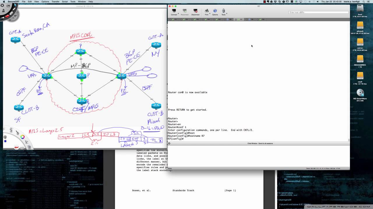 Please check out the *NEW* MPLS L3 VPN Video Series (Link Below)