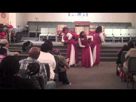Victorious In Praise Praise Dance to Mary Did You Know by Ceelo Green