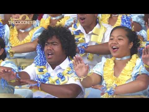 Polyfest 2018 - Tonga Stage:  Mt Albert Grammar Ma'ulu'ulu