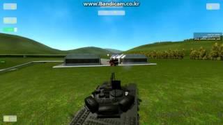 Gmod ACF Tank Battle T_72_BA vs T132