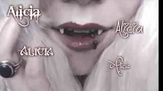 ***ASMR*** Alicia Vampire - Tingle Experiment