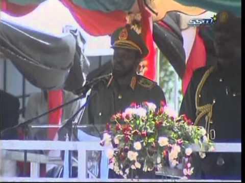 Salva Kiir's speech on the day of Sudan People's LiberationArmy 2