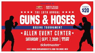 Police vs. Firefighters Boxing Tournament
