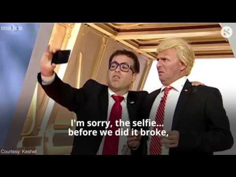 Israeli satire show pokes fun at Trump