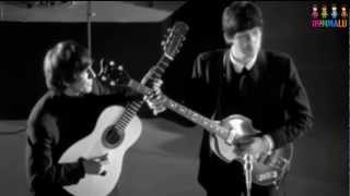 And I Love Her-The Beatles(subtitulado en ingles y español)[with lyrics]