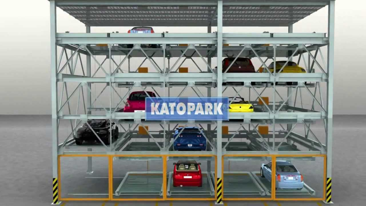 Katopark Puzzle Car Parking Car Stacking System