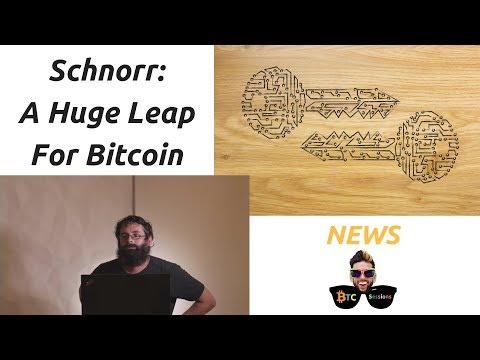 Optimizing Bitcoin: Schnorr Signatures