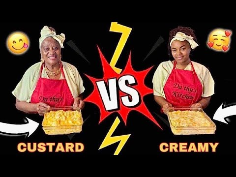 HOLIDAY VERSUS: GRANDMOTHER VS. GRAND-DAUGHTER'S FAMOUS MAC AND CHEESE SOUL FOOD RECIPES!!!