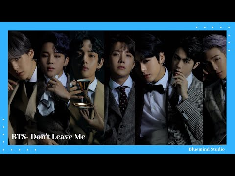 BTS-'Don't Leave Me' MV #BTS #dontleaveme #Faceyourself