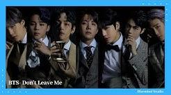 BTS-'Don't leave me' MV #BTS #dontleaveme #Faceyourself