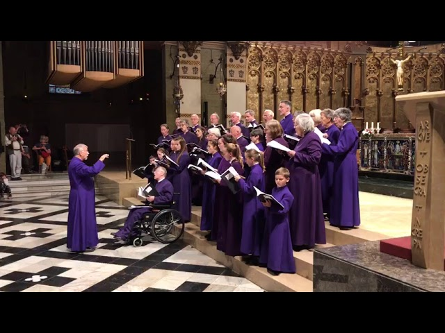 Batten: O Sing Joyfully at  Montserrat Abbey