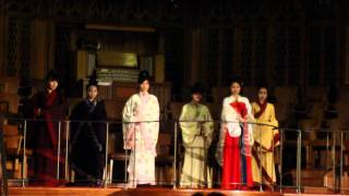 Han dynasty Chinese clothes show in bristol 2012 Chinese new year party 汉服秀