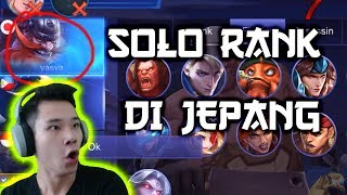 SOLO RANK DI JEPANG, TIM FIRST PICK FRANCO
