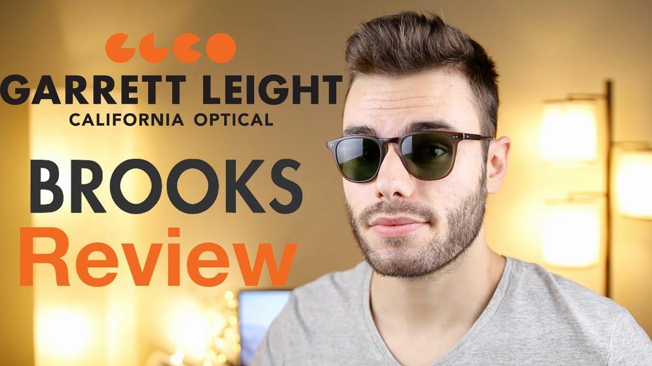 a462b0ec9c Garrett Leight California Brooks Review - YouTube